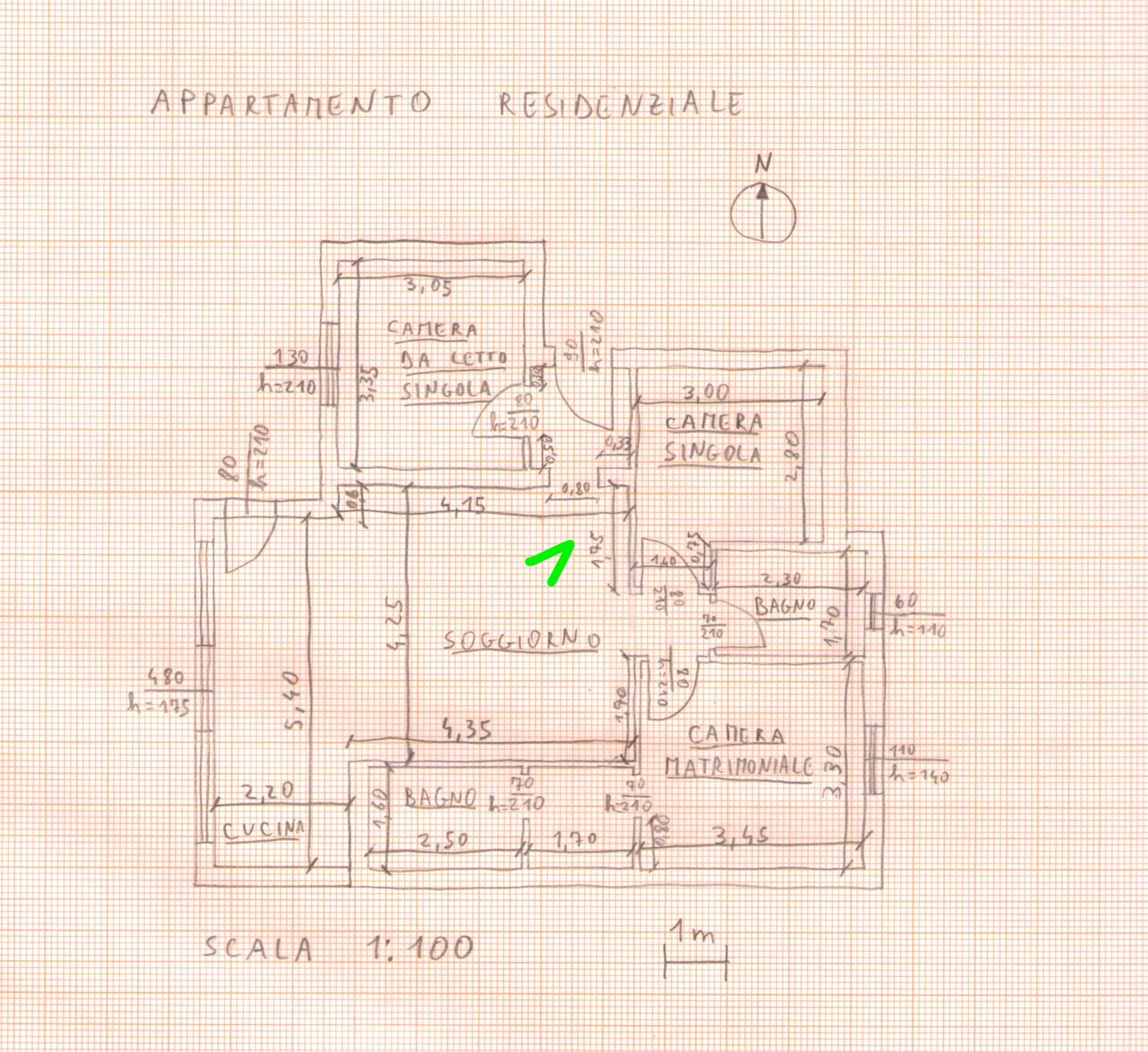 Rilievo architettonico for Planimetria 3d online