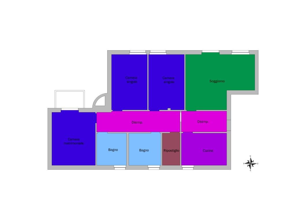 Planimetrie colorate on line for Planimetria online gratis