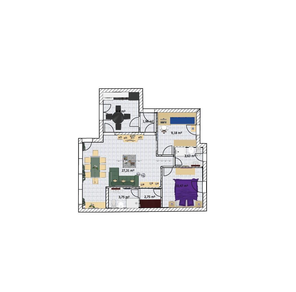 Planimetria Casa Con Misure planimetrie arredate online