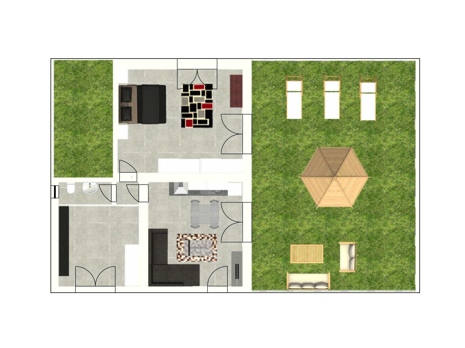 Immagini di giardino con planimetria casa con giardino for Progetta le planimetrie di casa online gratuitamente