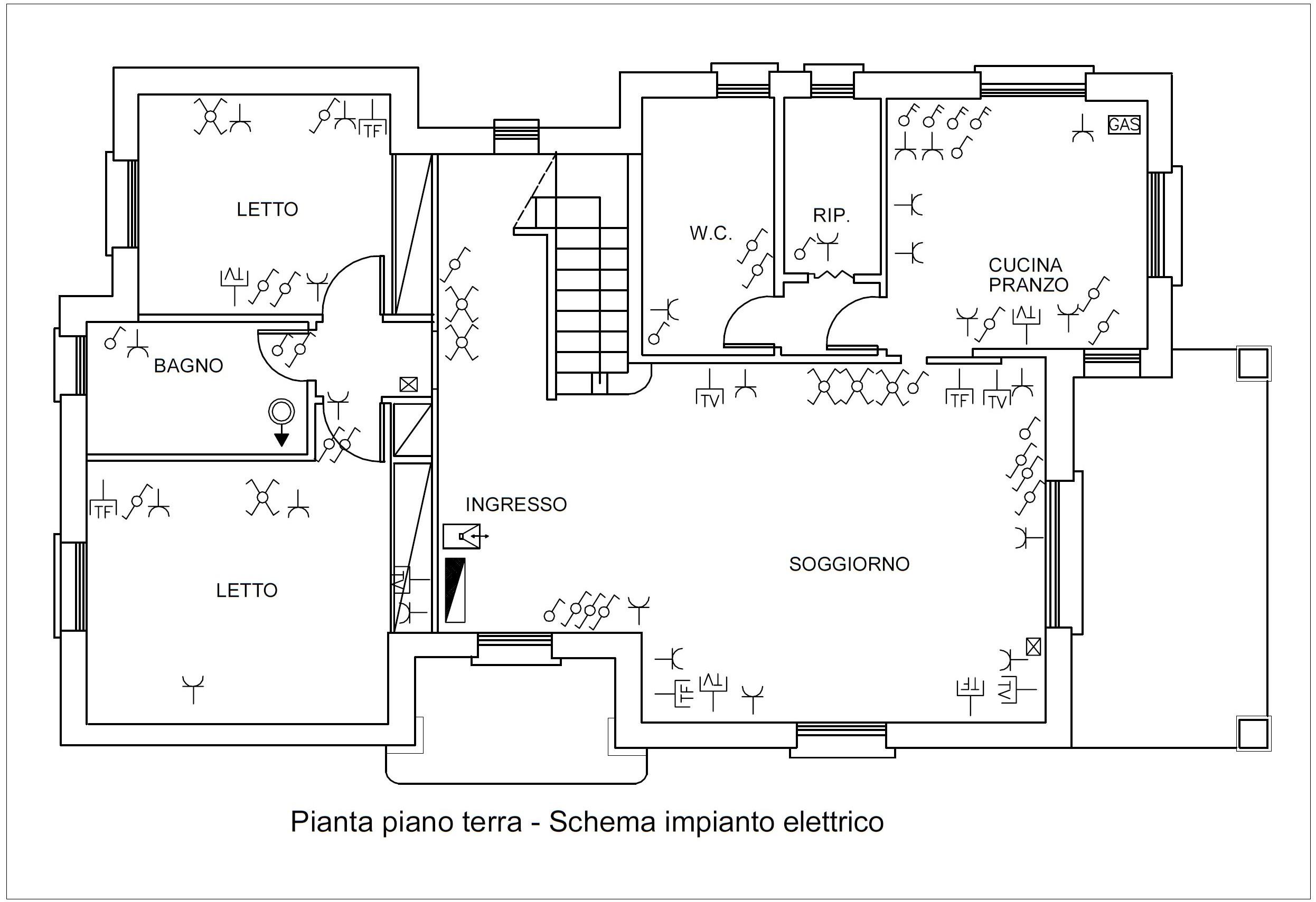 Schemi Elettrici Impianti : Progettazione impianti elettrici archdesignonline
